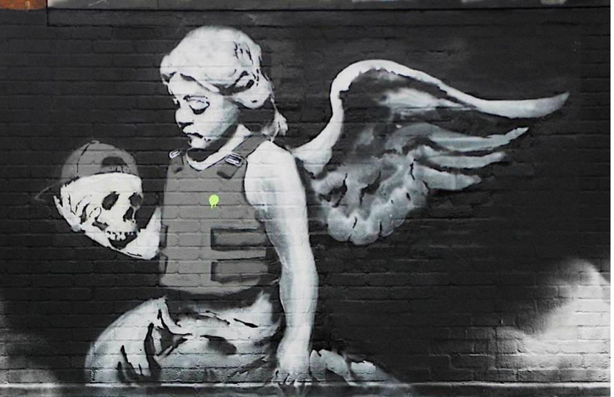Stencil, Banksy