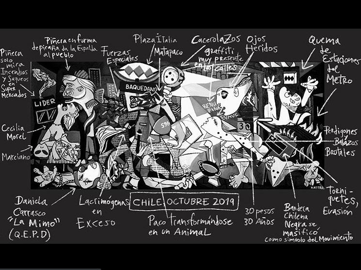 """""""Octubre negro"""" - Miguel ángel Castro (@kastropintor)"""